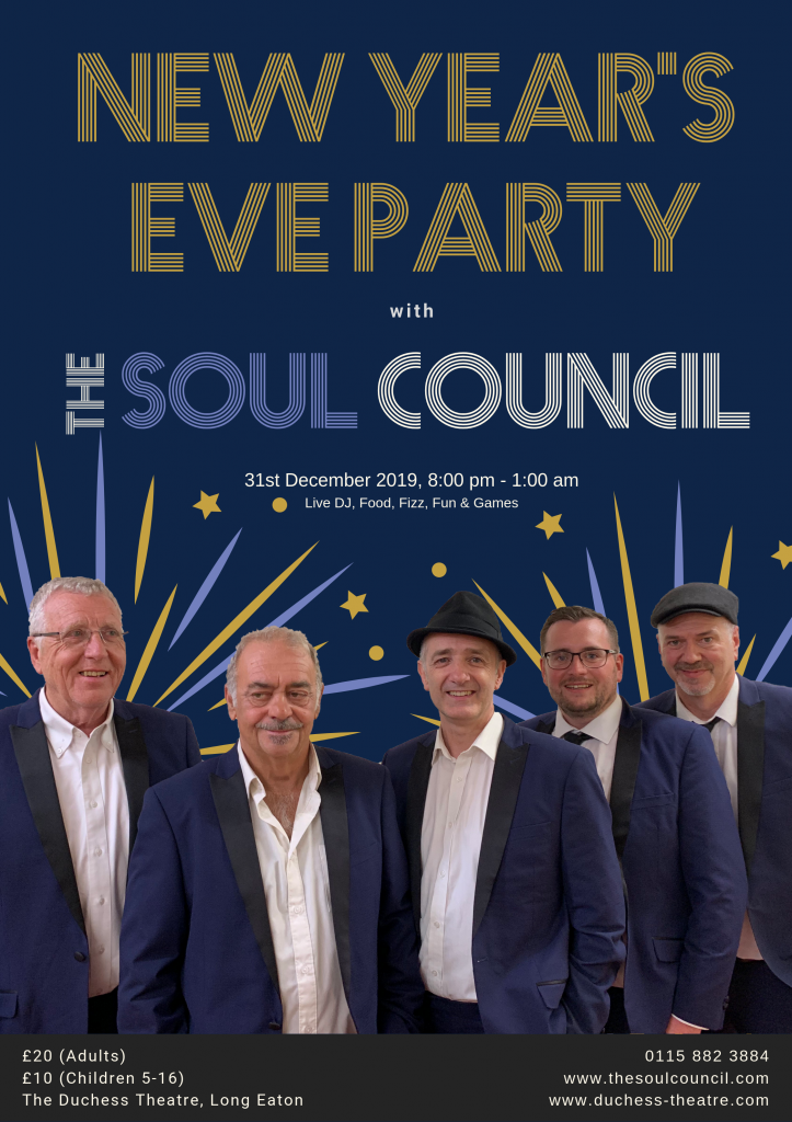 Poster Image for New Years Eve Party - The Soul Council